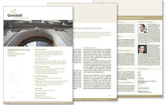Grenbell Corporate Design