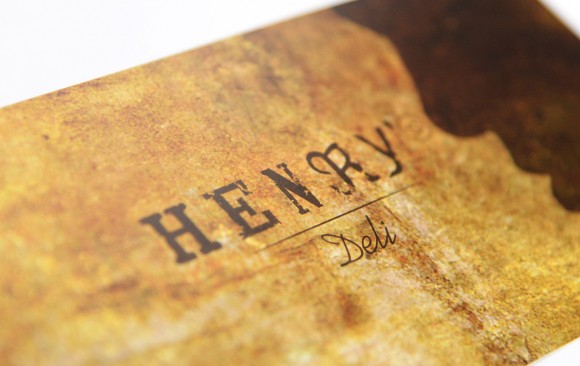 Henry's Deli Corporate Design