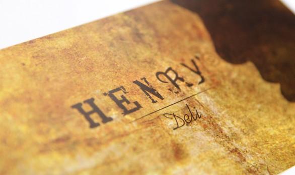 Henry's Deli Corporate Design